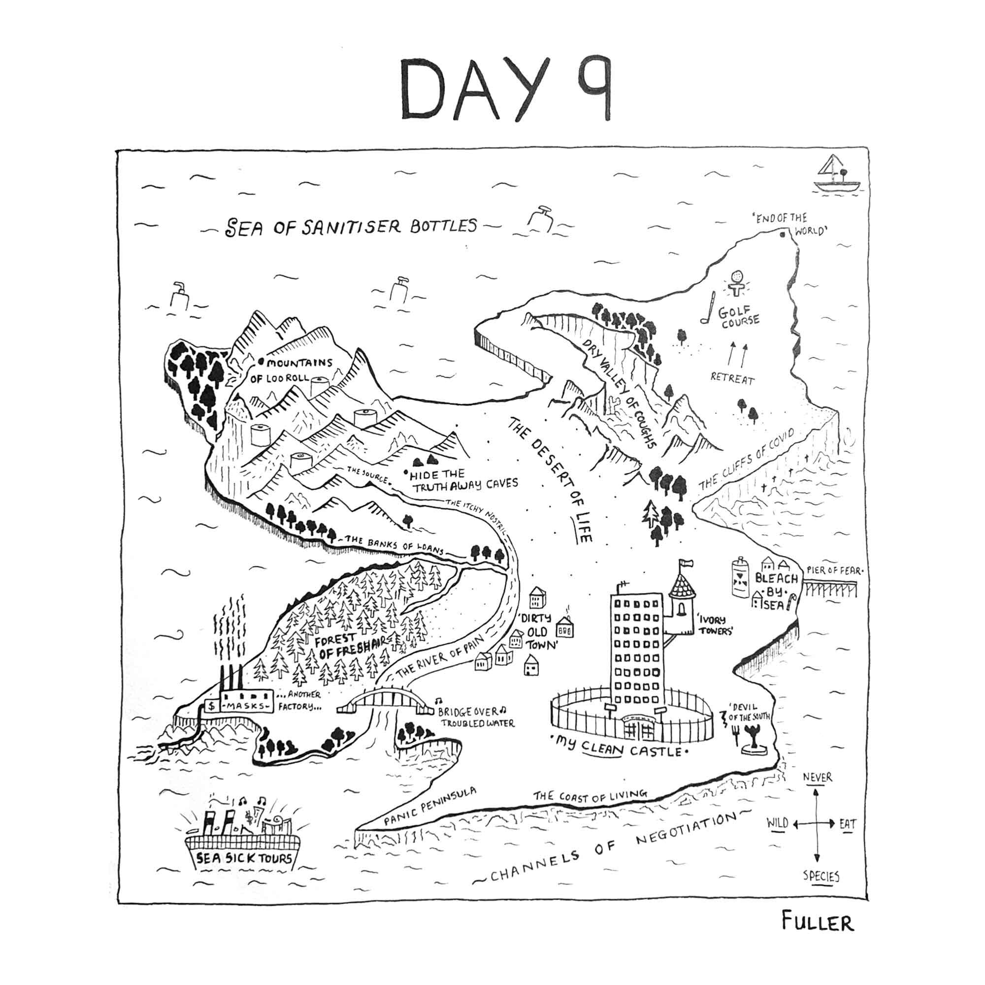 DAY 9 / Quarantine May By FULLER (Copy)