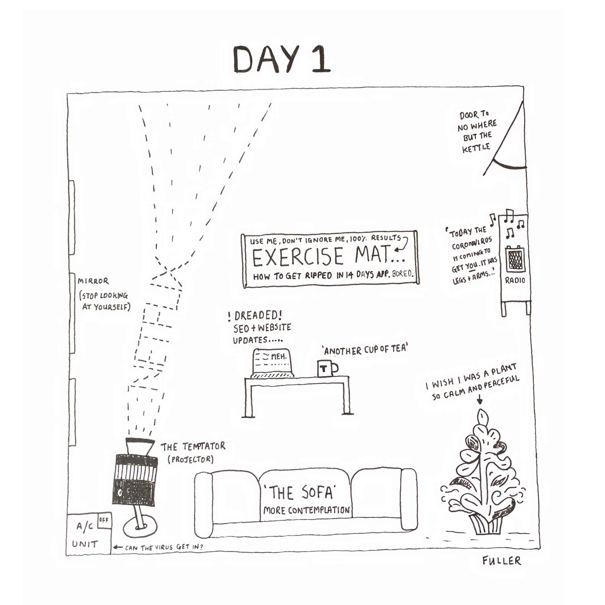 DAY 1 / Quarantine May By FULLER (Copy)