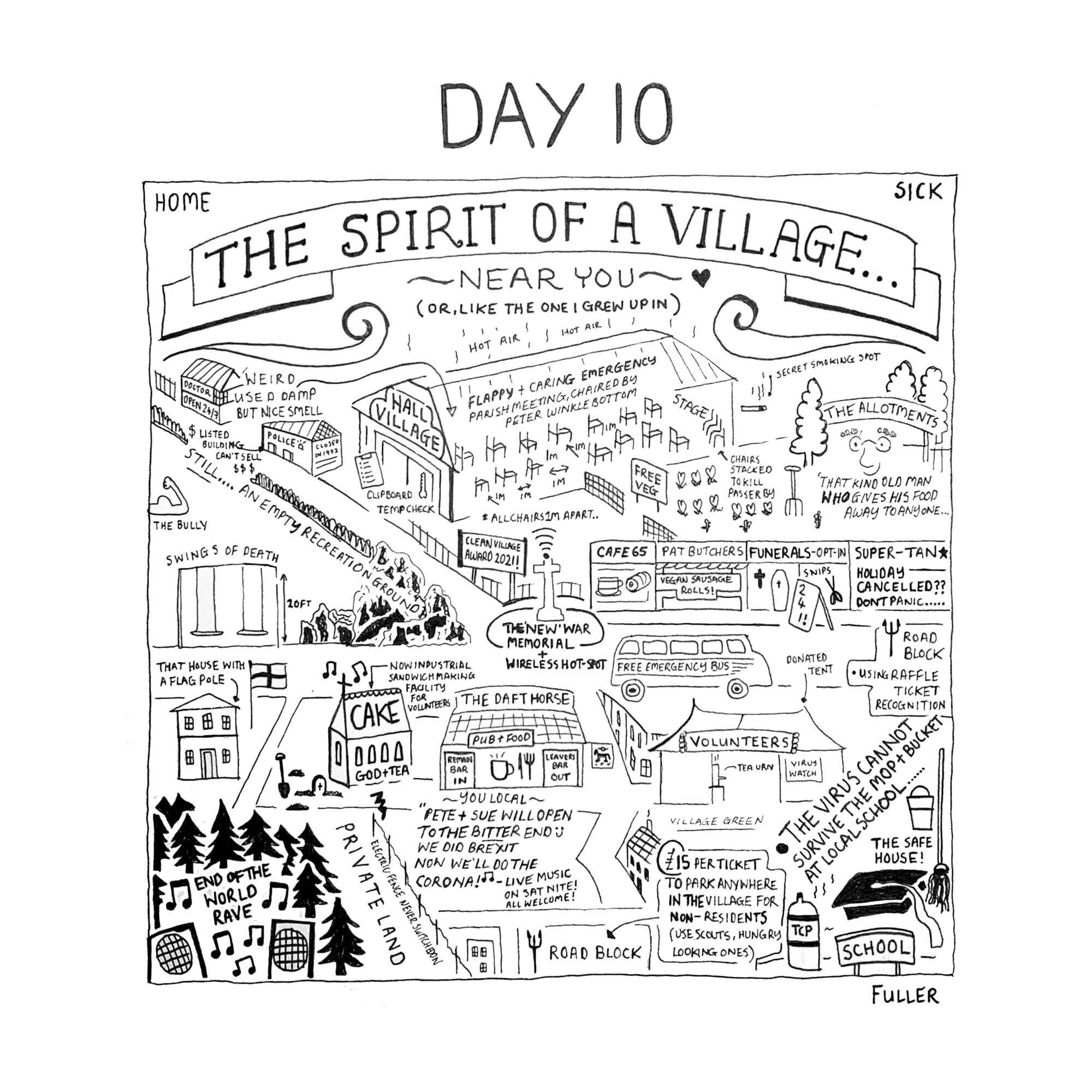 DAY 10 / Quarantine May By FULLER (Copy)