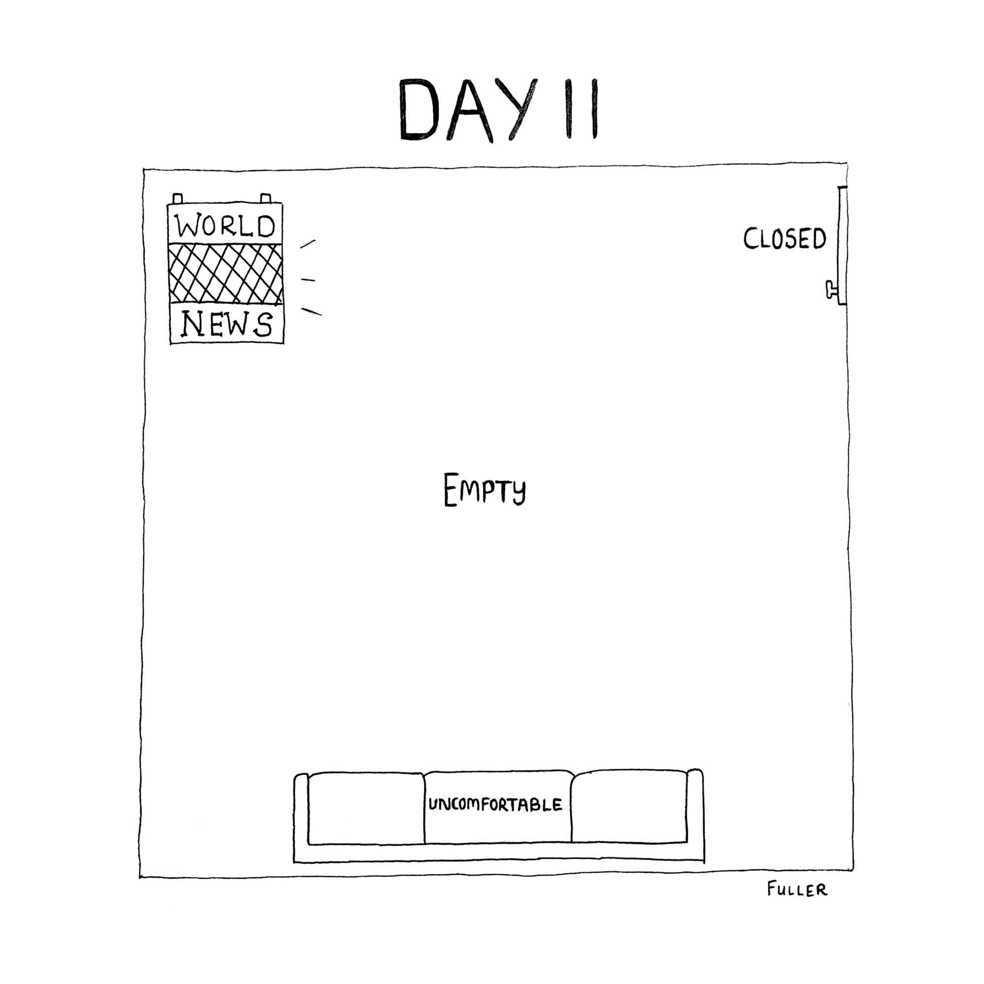 DAY 11 / Quarantine May By FULLER (Copy)