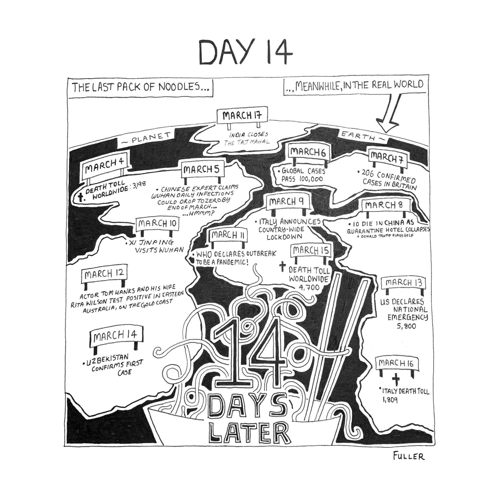 DAY 14 / Quarantine May By FULLER (Copy)